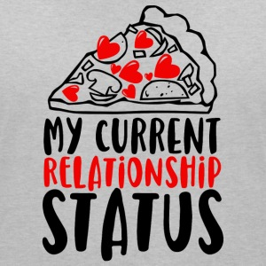 My current relationship status - Women's V-Neck T-Shirt