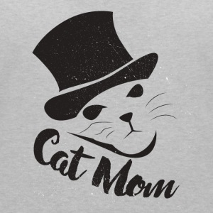 Cat Mom Catmamas Catfan Catmutti gift - Women's V-Neck T-Shirt