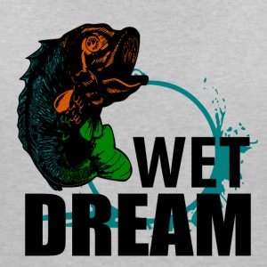 Wet Dream - Fishing - Frauen T-Shirt mit V-Ausschnitt