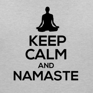 Keep Calm and Namaste ... - Women's V-Neck T-Shirt