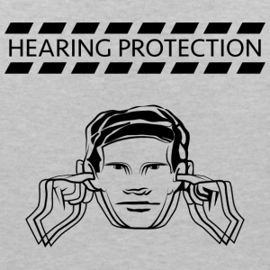 Hearing protection - Women's V-Neck T-Shirt