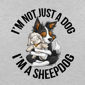 I'm a Sheepdog 2 - Women's V-Neck T-Shirt