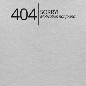 404 - Pas de motivation - T-shirt col V Femme