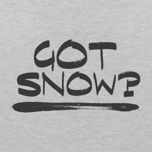 Got SNOW? - Boarder Power! - Women's V-Neck T-Shirt