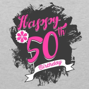 50 Birthday - Congratulations gift - Women's V-Neck T-Shirt