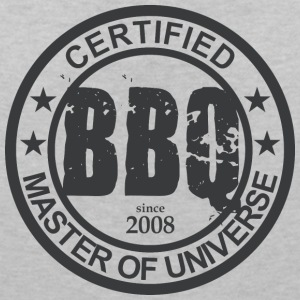 Certified BBQ Master 2008 Grillmeister - Women's V-Neck T-Shirt