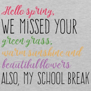 Springbreak / Springbreak: Hello Spring, we miss - Women's V-Neck T-Shirt