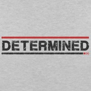 Determined - Women's V-Neck T-Shirt