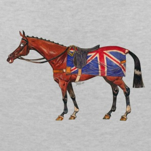 British horse - Women's V-Neck T-Shirt