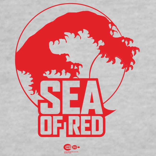 Sea of red logo - small red