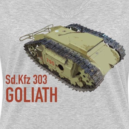 Goliath - Frauen Bio-T-Shirt mit V-Ausschnitt von Stanley & Stella