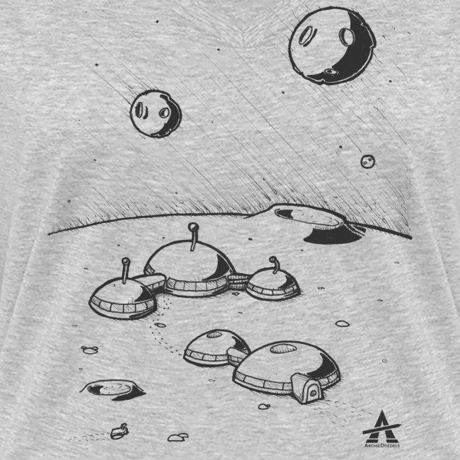 Moonbase Sketch ligne