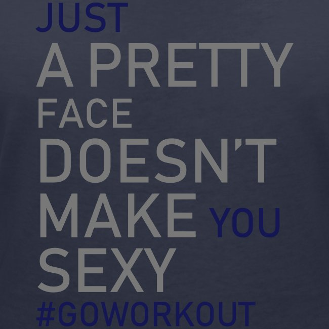 Just a pretty face...
