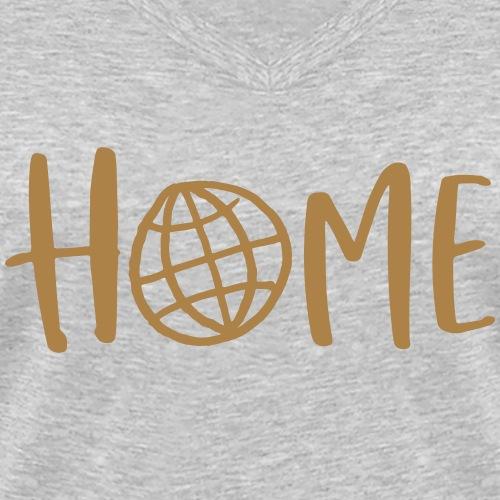 HOME - my days for future - Frauen Bio-T-Shirt mit V-Ausschnitt von Stanley & Stella