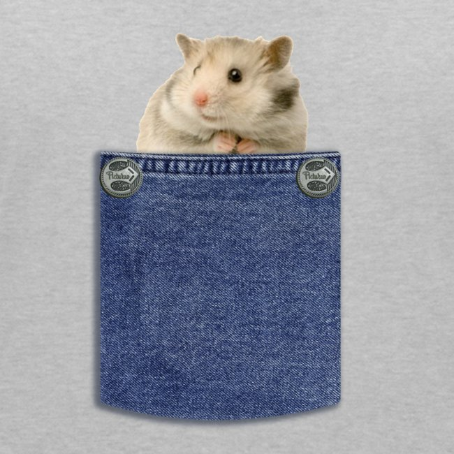 hamster in the poket