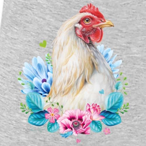 Hen zonder tekst - Vrouwen bio T-shirt met V-hals van Stanley & Stella