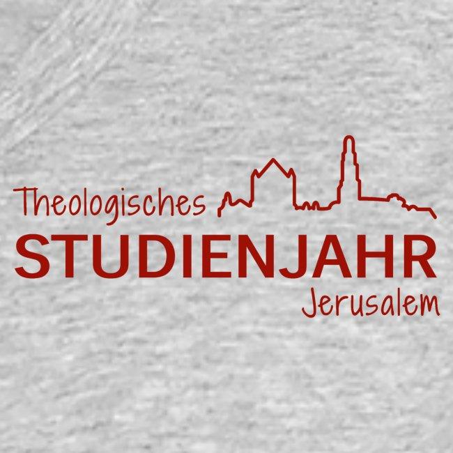 Studienjahrslinie vorne & Hashtag (schwarz) hinten