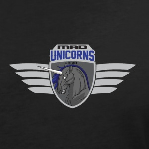 Mad Unicorns Bright - Women's V-Neck T-Shirt