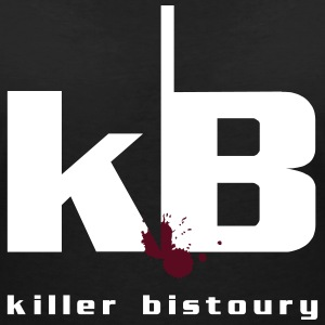 killer black bistoury - Women's V-Neck T-Shirt