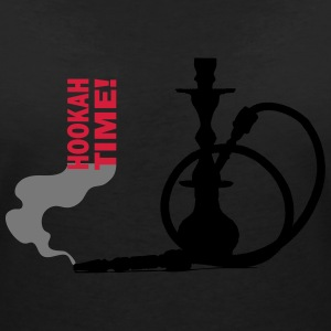 Hookah Time - Women's V-Neck T-Shirt