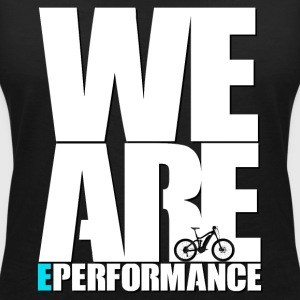 WE ARE ePerformance - Women's V-Neck T-Shirt