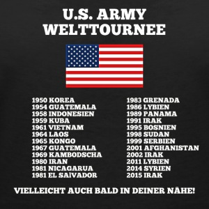 US Army World Tour - T-shirt med v-ringning dam