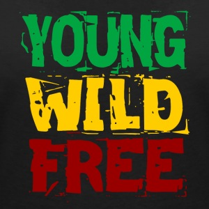 Young Wild Free - Women's V-Neck T-Shirt