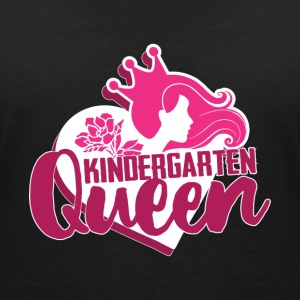 Nursery Queen - Women's V-Neck T-Shirt