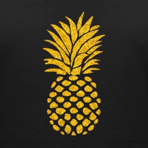 Pineapple Summer Vibe - Women's V-Neck T-Shirt