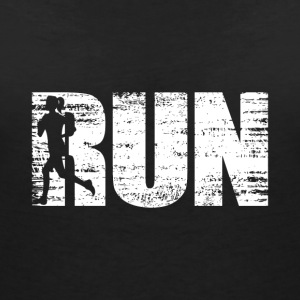 Running - Run - Women's V-Neck T-Shirt