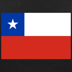 National Flag Of Chile - Dame-T-shirt med V-udskæring