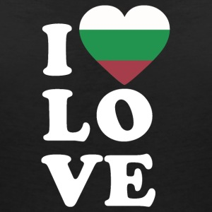 I love Bulgaria - Women's V-Neck T-Shirt
