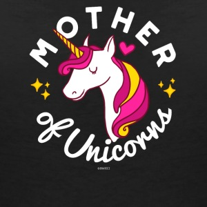 Mother of Unicorns (Cute Gift for Mothers) - Women's V-Neck T-Shirt