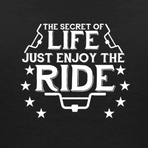 Enjoy the Ride - T-shirt col V Femme