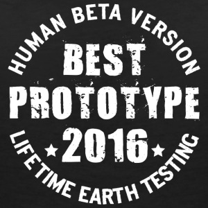 2016 - The birth year of legendary prototypes - Women's V-Neck T-Shirt