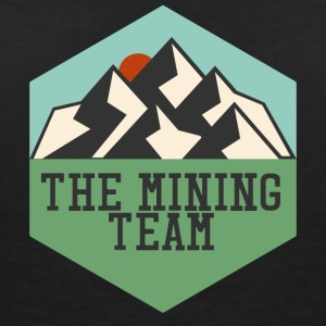 Mining The Mining Team - Women's V-Neck T-Shirt