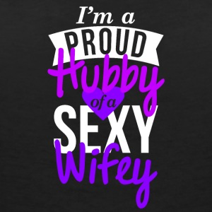 Hubby Design Proud couple t-shirt - T-shirt col V Femme