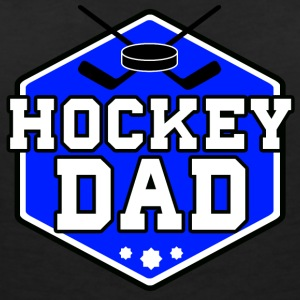 Hockey Dad - Women's V-Neck T-Shirt
