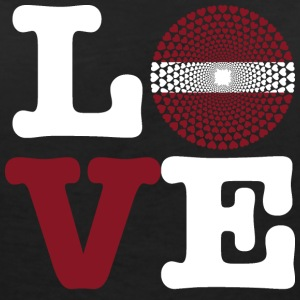 LATVIA HEART - Women's V-Neck T-Shirt