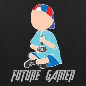 Future Gamer - Women's V-Neck T-Shirt