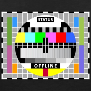 Test image display screen test card offline Big Bang - Women's V-Neck T-Shirt