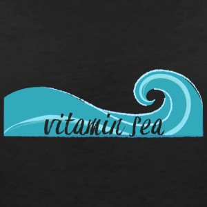 Surfer / Surfing: Vitamin Sea - Women's V-Neck T-Shirt