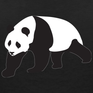 Panda Bear - Women's V-Neck T-Shirt