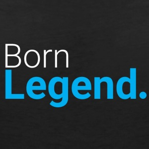 Born Legend - Women's V-Neck T-Shirt