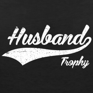 Trophy Husband - T-shirt med v-ringning dam
