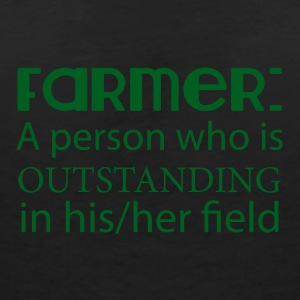 Farmer / Farmer / Farmer: A person who is outstan - Women's V-Neck T-Shirt