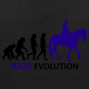 ++ ++ Ride Evolution - T-skjorte med V-utsnitt for kvinner