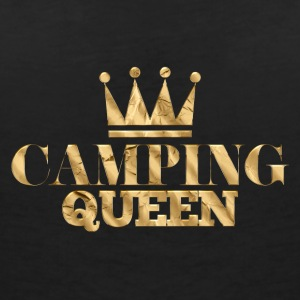Extérieur · Camping · Queen Camping - T-shirt col V Femme