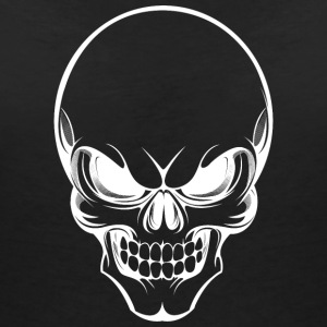 Dead skull 002 AllroundDesigns - Women's V-Neck T-Shirt