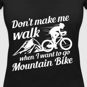 Mountainbike - Women's V-Neck T-Shirt